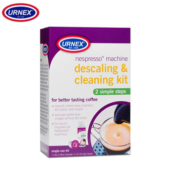 Urnex Nespresso Machine Descaling & Cleaning Kit