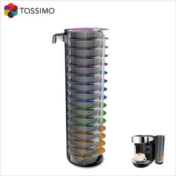 Tassimo Bosch T Disc Holder Dispenser Caddy - 16 Pods - TCZ7000 - thecoffeefiltershop