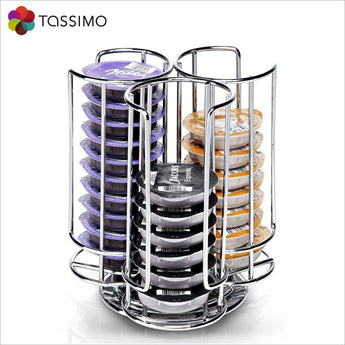 Tassimo Bosch T Disc Holder Dispenser - 32 Pods - thecoffeefiltershop