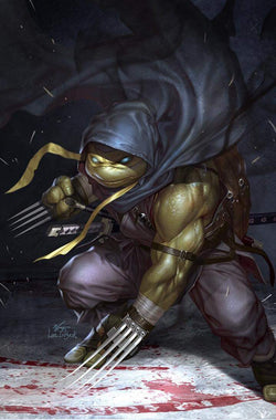 THE MAKING OF TMNT JENNIKA #1 INHYUK LEE VIRGIN VARIANT