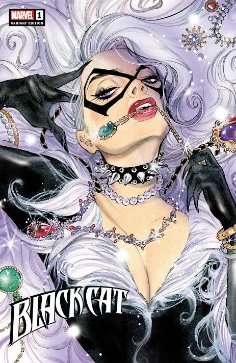 BLACK CAT #1 PEACH MOMOKO VARIANT,  - Slab City Comics - UK Comic Shop