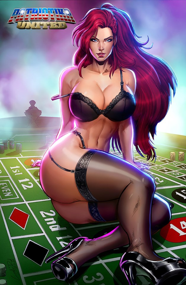Patriotika United Arcane Roulette,  - Slab City Comics - UK Comic Shop