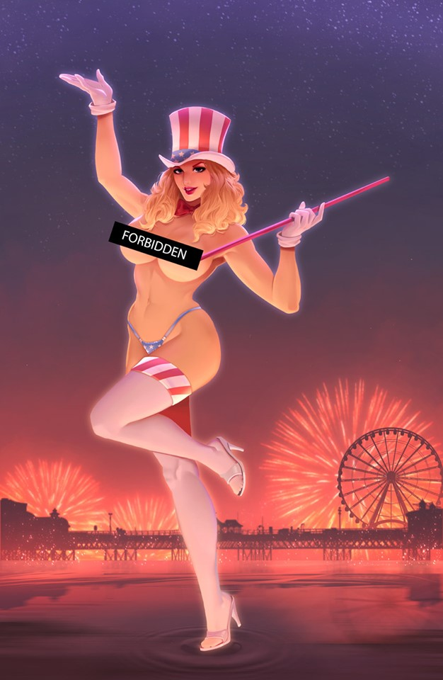 Patriotika Year Two Light It Up,  - Slab City Comics - UK Comic Shop