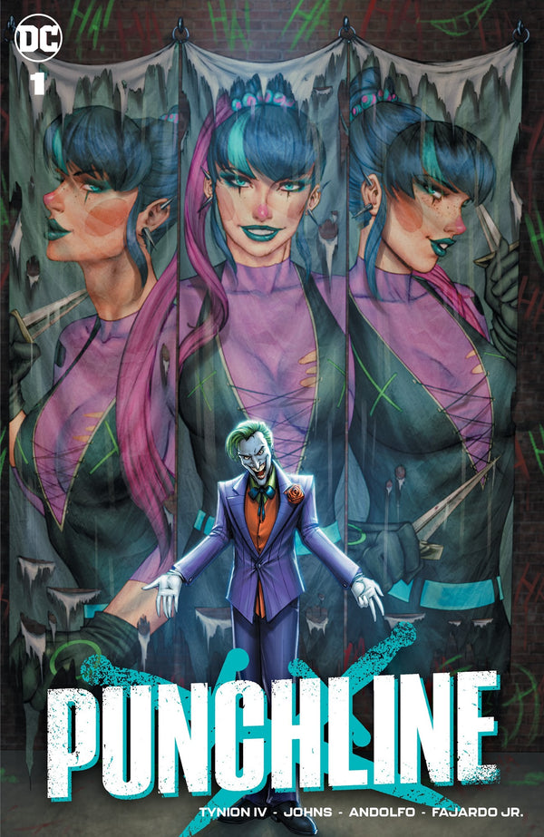 PUNCHLINE #1 RYAN KINCAID VARIANT,  - Slab City Comics - UK Comic Shop