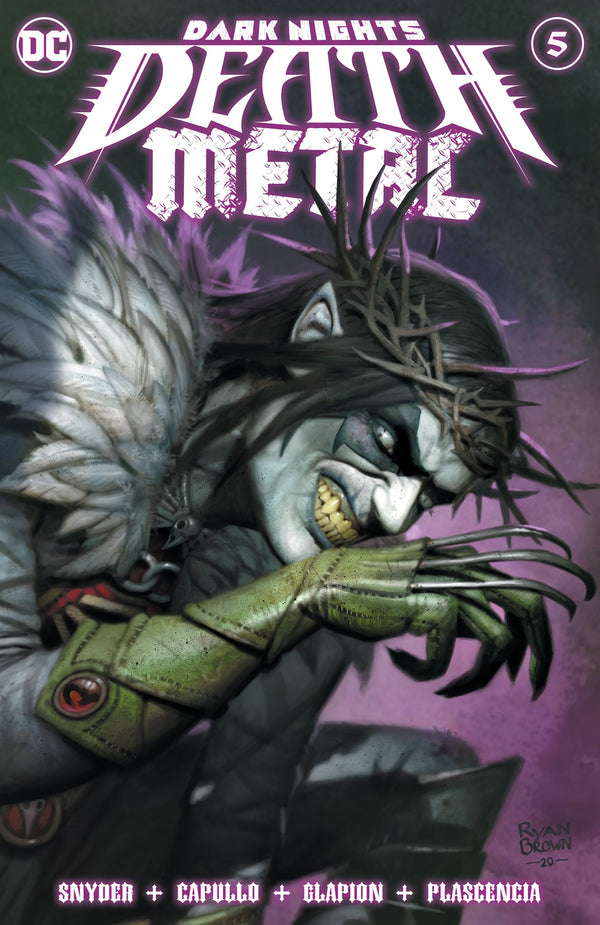 DARK NIGHTS: DEATH METAL #5 RYAN BROWN VARIANTS