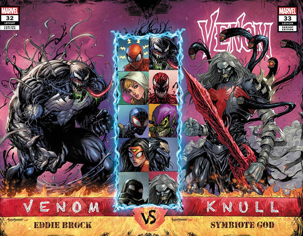 VENOM #32 & VENOM #33 KIRKHAM VARIANT SETS,  - Slab City Comics - UK Comic Shop