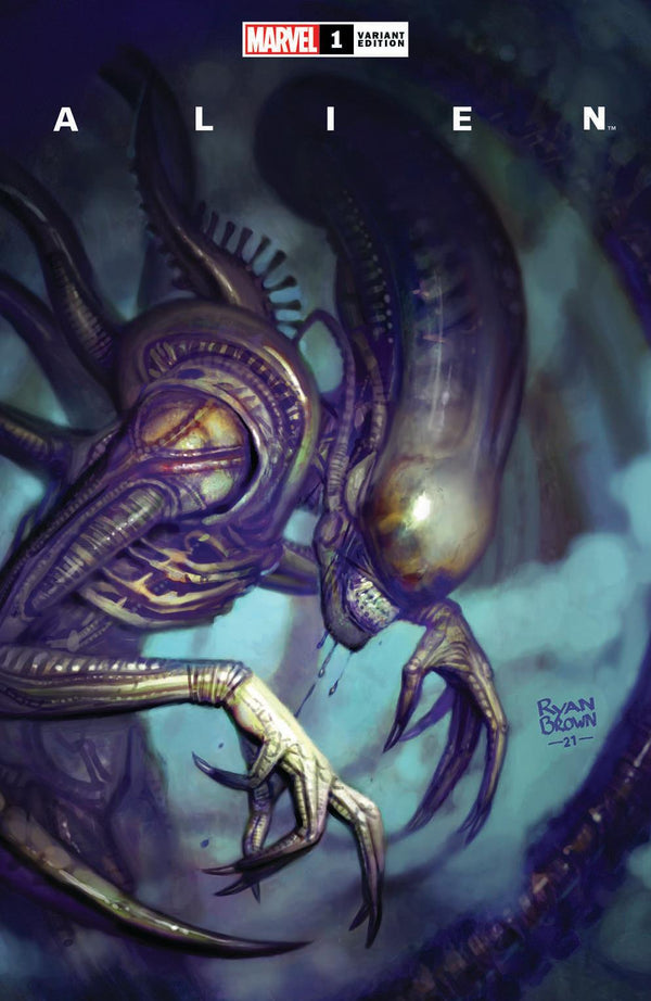 ALIEN #1 RYAN BROWN VARIANTS