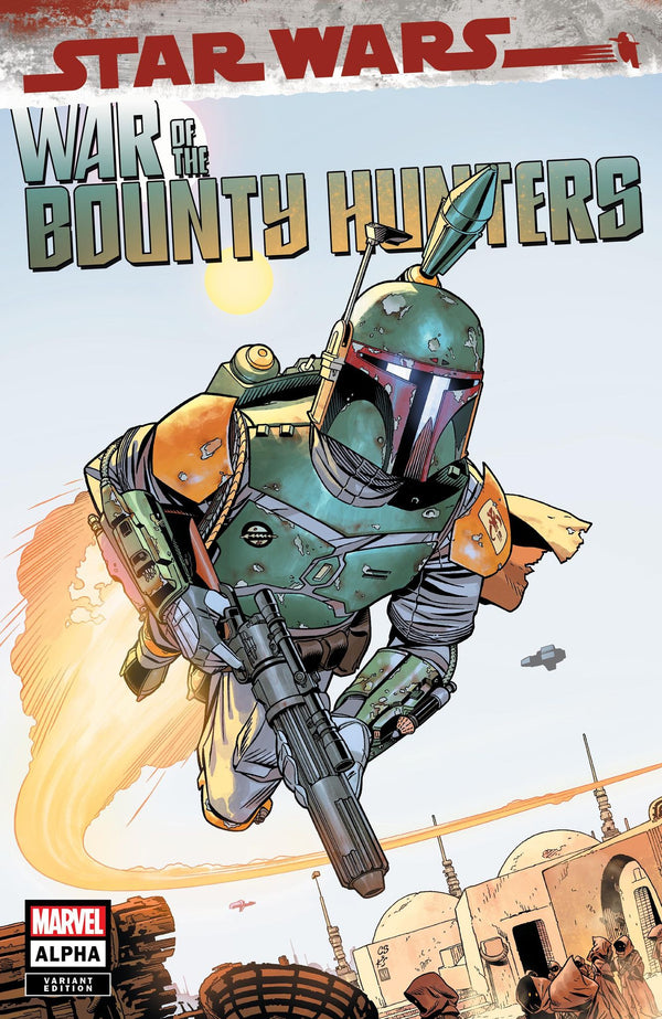 STAR WARS WAR BOUNTY HUNTERS ALPHA #1 SPROUSE VARIANTS - Slab City Comics