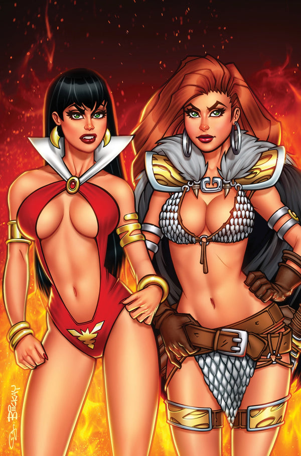 Vampirella Red Sonja #1 NYCC Comics Elite Virgin Exclusive
