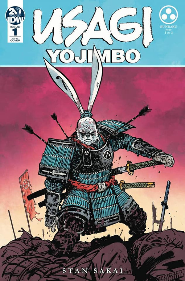 19/06/2019 USAGI YOJIMBO #1 1:10 JOHNSON VARIANT