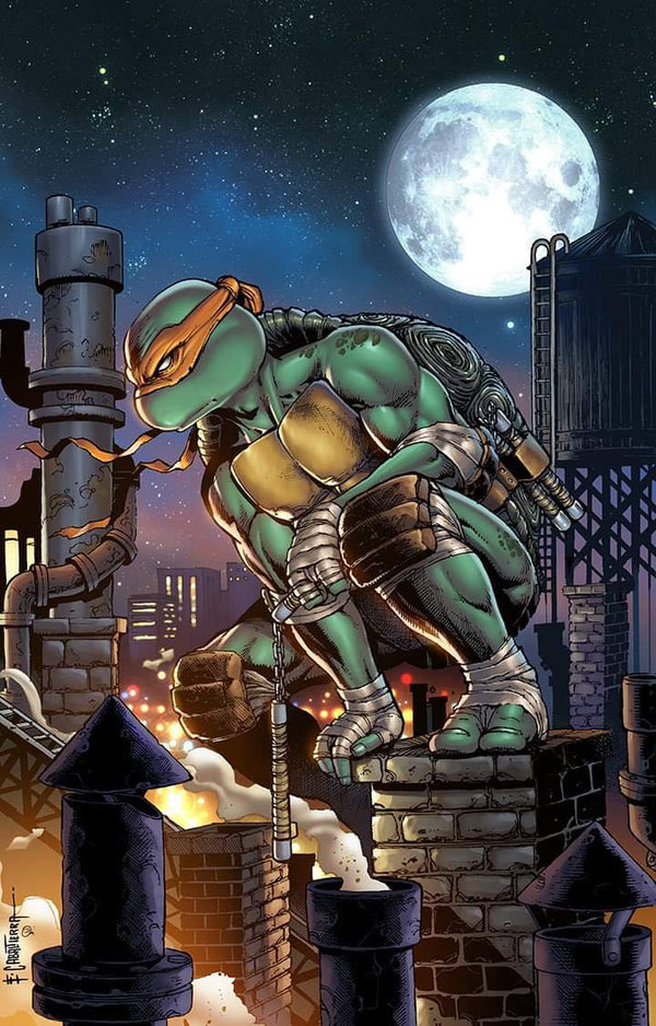 TMNT ONGOING #101-105 EMIL CABALTIERRA EXCLUSIVE VARIANTS