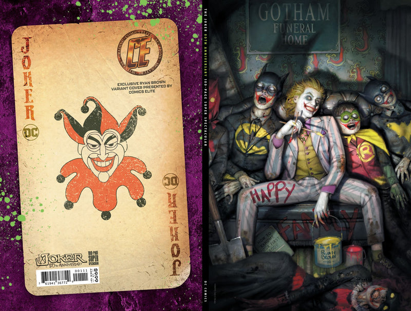 JOKER 80TH ANNIVERSARY 100 PAGE SUPER SPECT