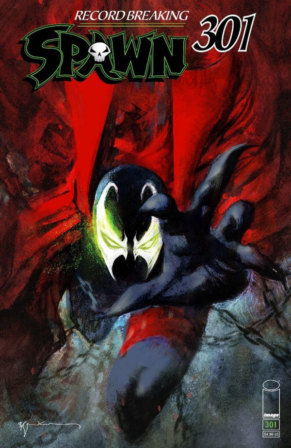 SPAWN #301 SEINKIEWICZ VARIANT - Slab City Comics