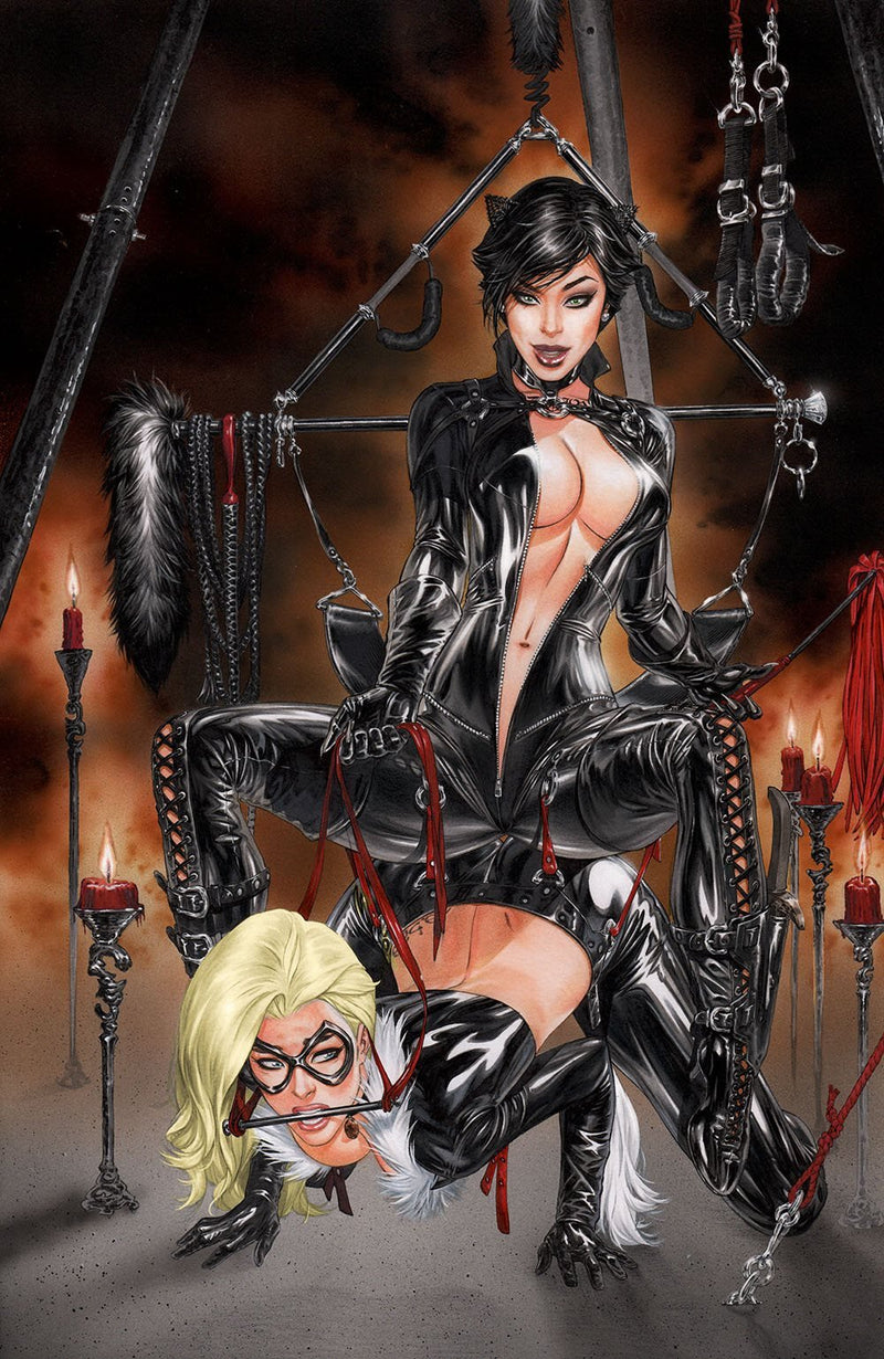 Notti & Nyce Ebas Catfight Cosplay,  - Slab City Comics - UK Comic Shop