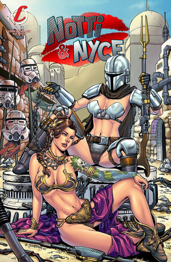 NOTTI & NYCE #1 EMIL CABALTIERRA STAR WARS DAY COSPLAY VARIANT,  - Slab City Comics - UK Comic Shop