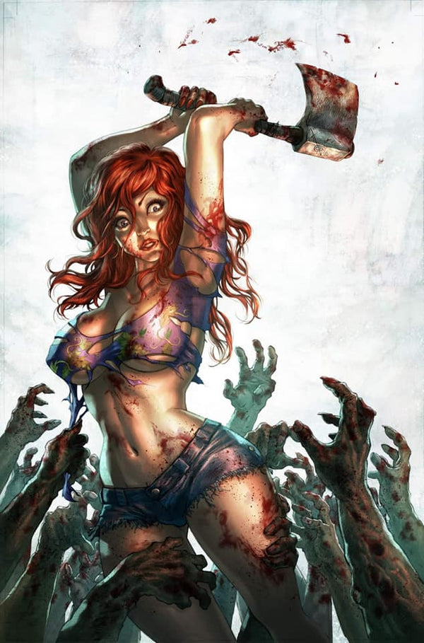 Dead Day #1 Character Virgin Variant By Alan Quah,  - Slab City Comics - UK Comic Shop