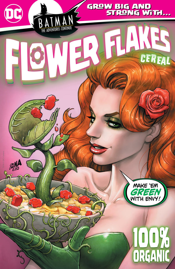BATMAN THE ADVENTURES CONTINUE #5 POISON IVY CEREAL BOX DAVID NAKAYAMA VARIANT