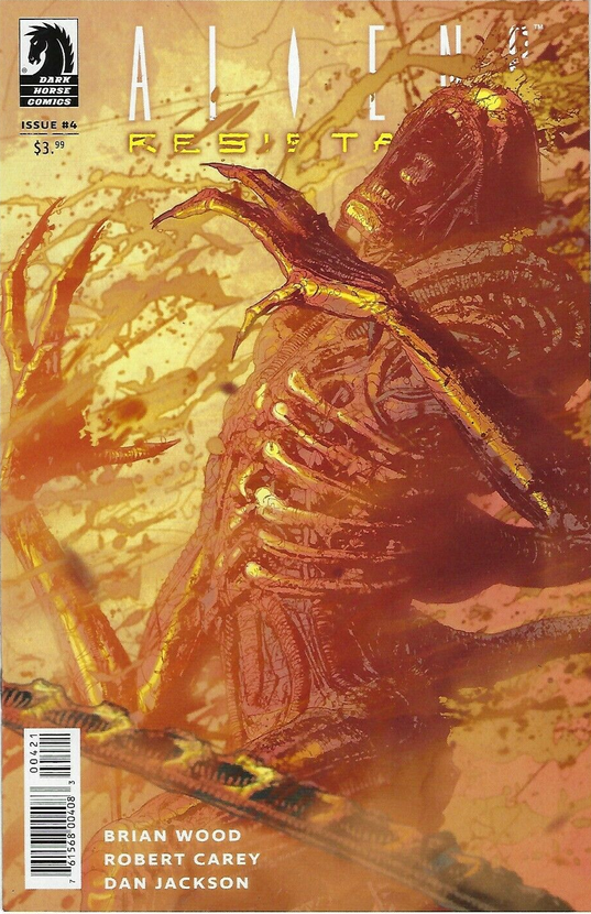 ALIENS RESISTANCE #4,  - Slab City Comics - UK Comic Shop