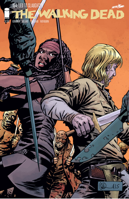 WALKING DEAD #154 - Slab City Comics