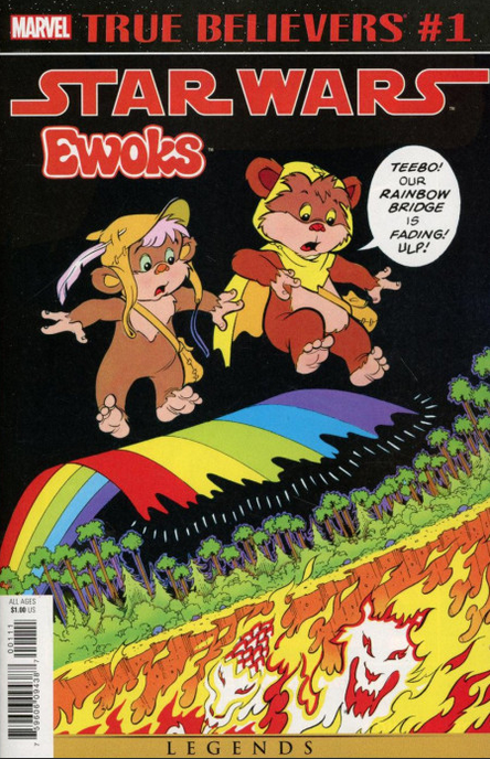 TRUE BELIEVERS STAR WARS EWOKS