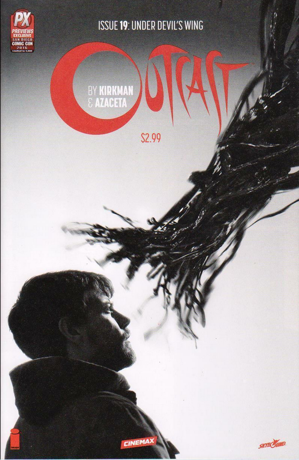 OUTCAST #19 PX VARIANT - Slab City Comics