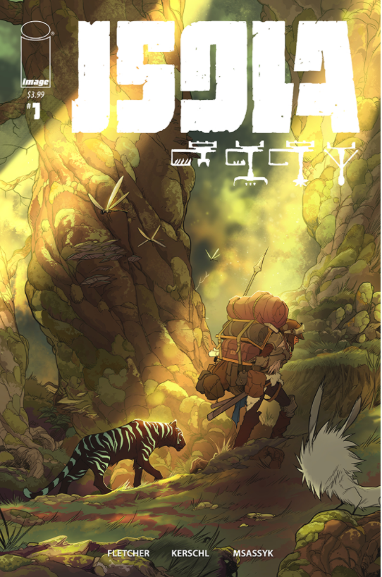 ISOLA #1 CVR B VARIANT - Slab City Comics