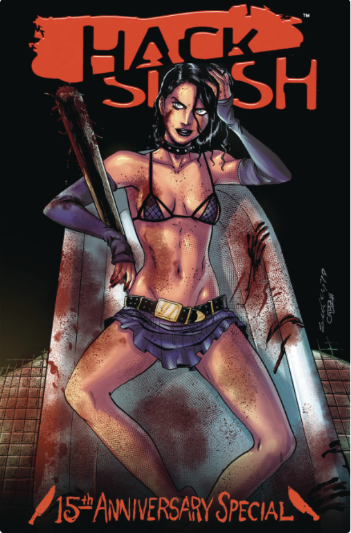 HACK SLASH 15TH ANNV CELEBRATION CVR B SEELEY - Slab City Comics