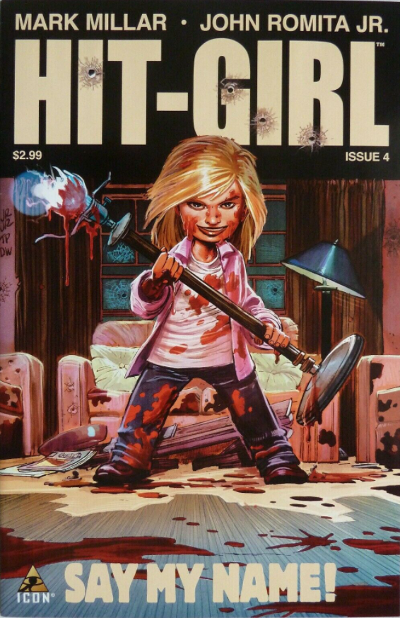 HIT-GIRL #4 - Slab City Comics