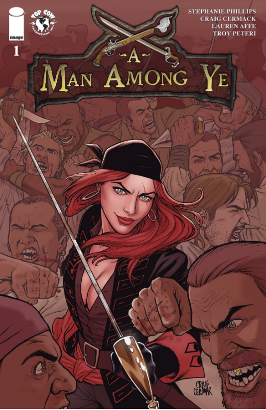 A MAN AMONG YE #1 CVR A CERMAK - Slab City Comics