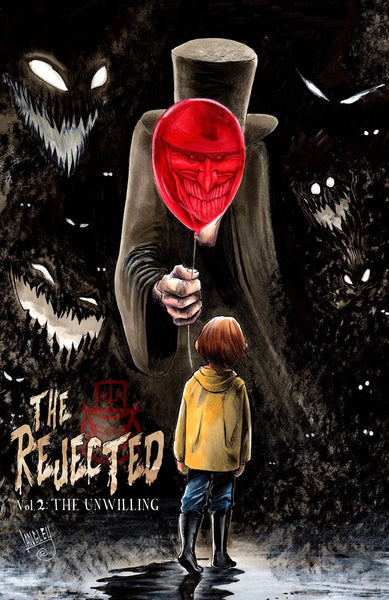 24/04/2019 THE REJECTED UNWILLING ONE SHOT MOVIE POSTER VARIANT