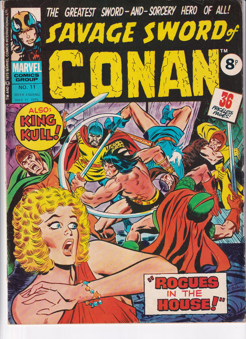 SAVAGE SWORD OF CONAN THE BARBARIAN NO.11 - Slab City Comics