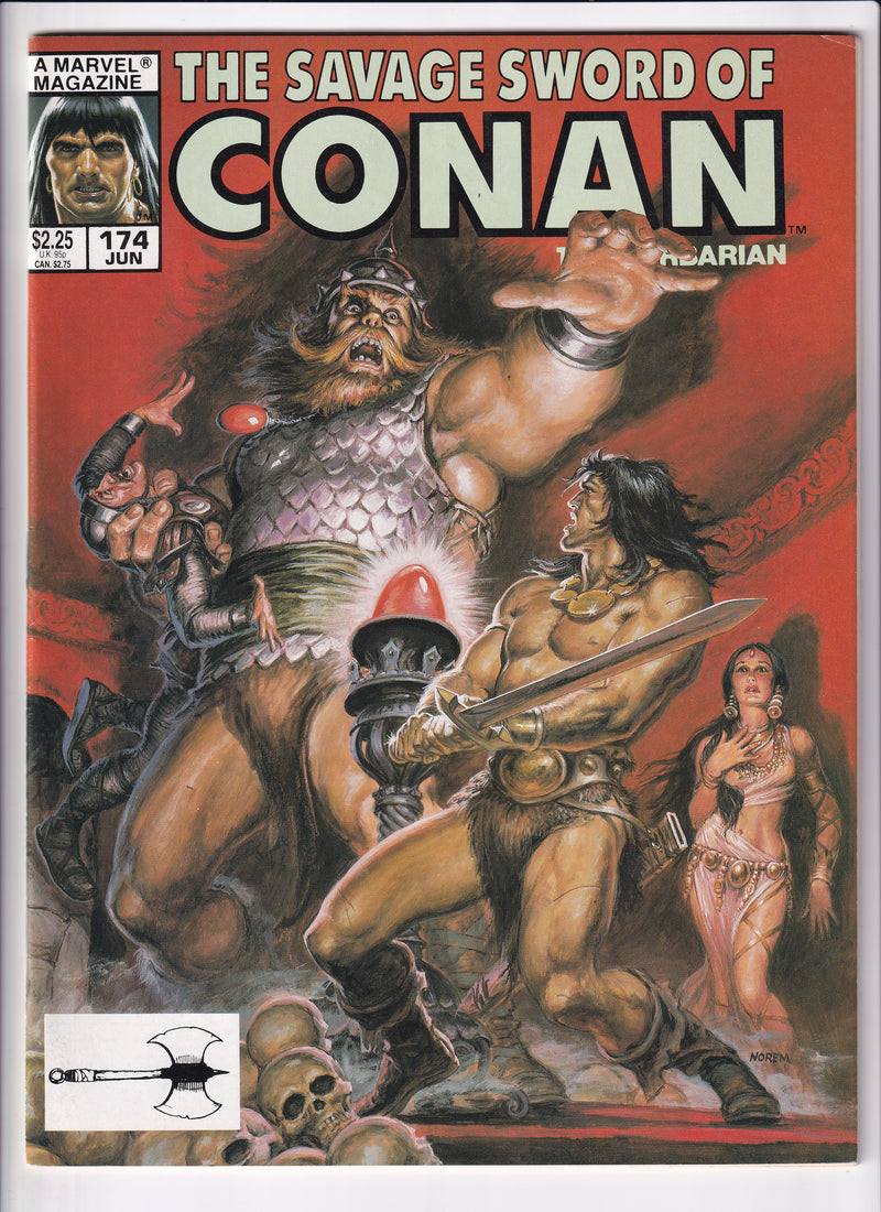TTHE SAVAGE SWORD OF CONAN THE BARBARIAN