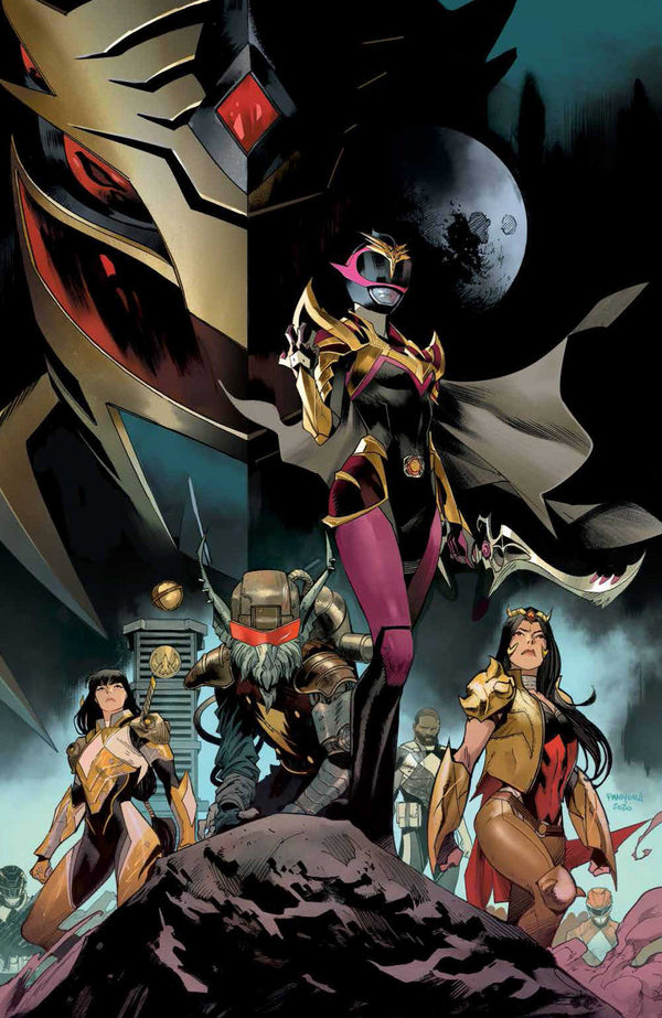 POWER RANGERS DRAKKON NEW DAWN #1 MORA 1:10 VIRGIN VARIANT,  - Slab City Comics - UK Comic Shop