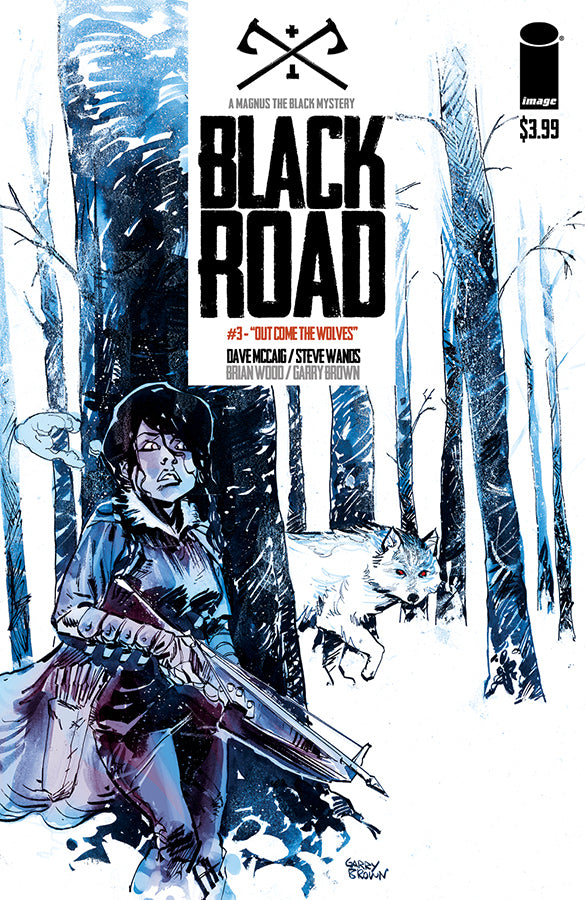 BLACK ROAD #3 - Slab City Comics