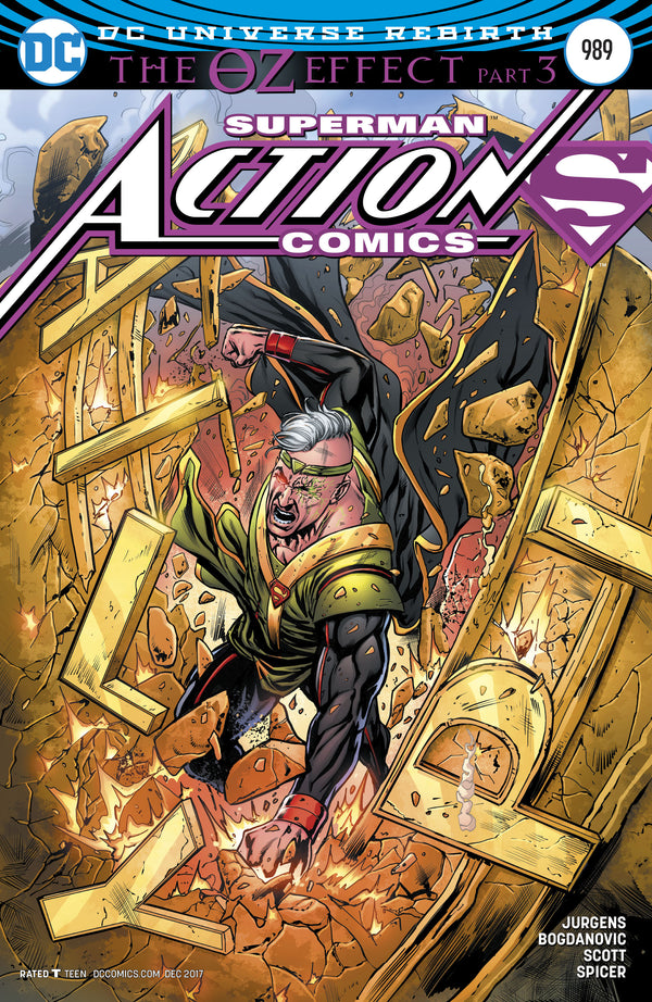 ACTION COMICS #989 VAR ED (OZ EFFECT),  - Slab City Comics - UK Comic Shop