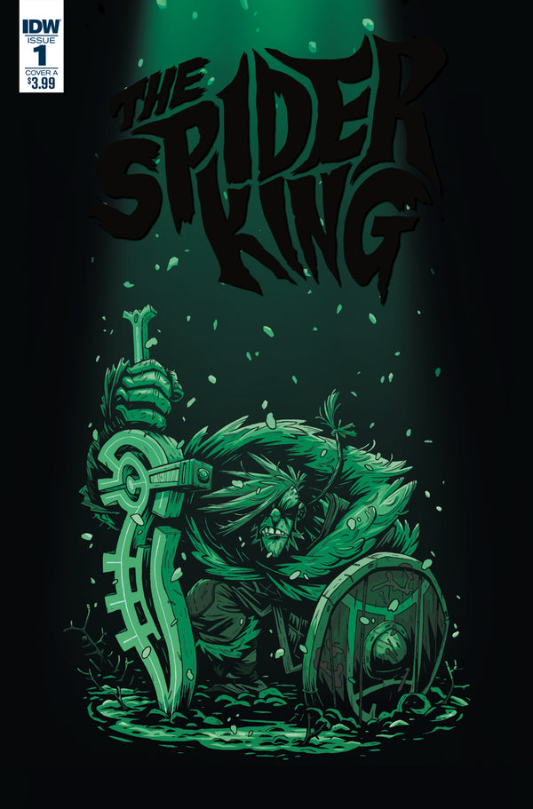 SPIDER KING #1 COVER A DARMINI - Slab City Comics