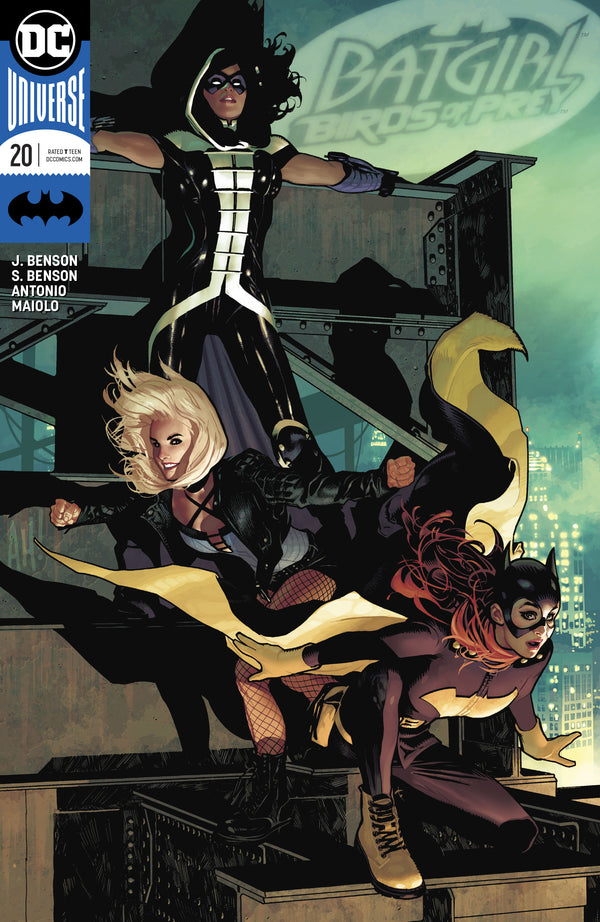 BATGIRL AND THE BIRDS OF PREY #20 VAR ED,  - Slab City Comics - UK Comic Shop