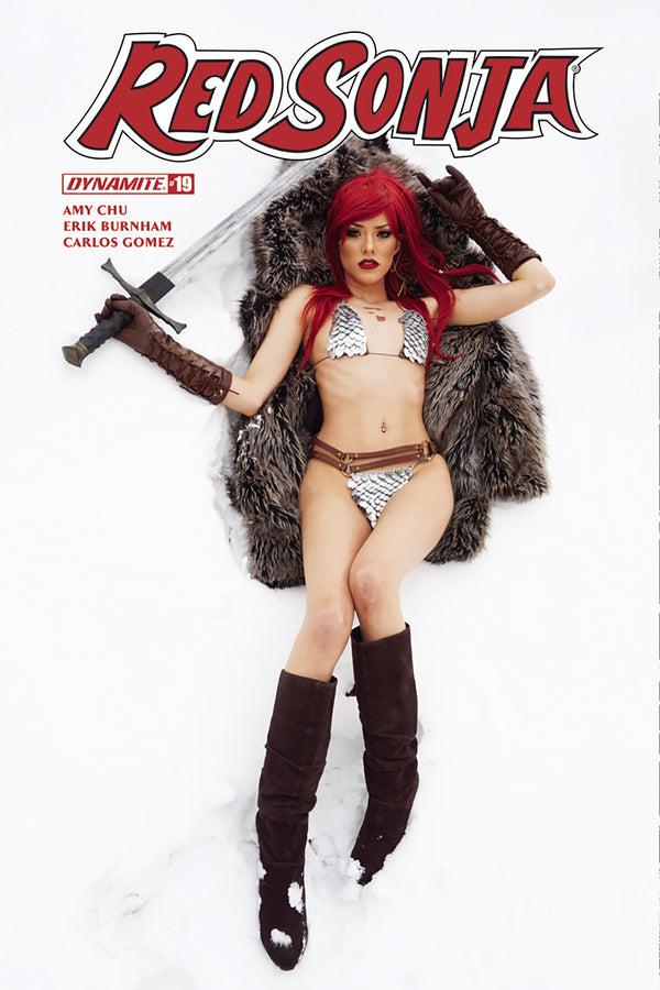 RED SONJA #19 COSPLAY VARIANT - Slab City Comics