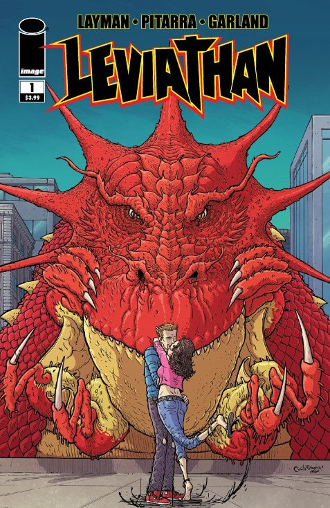 LEVIATHAN #1 - Slab City Comics