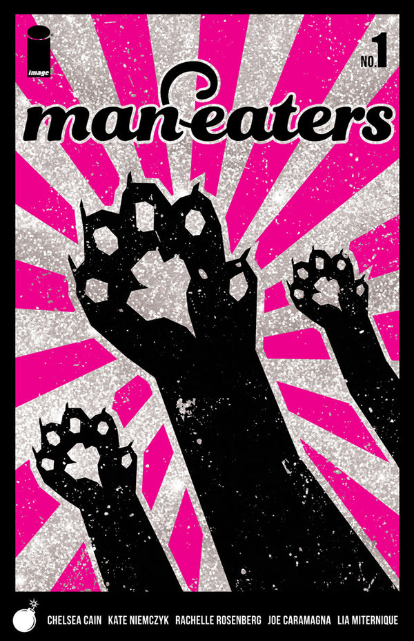 MAN-EATERS #1 GLITTER VARIANT - Slab City Comics