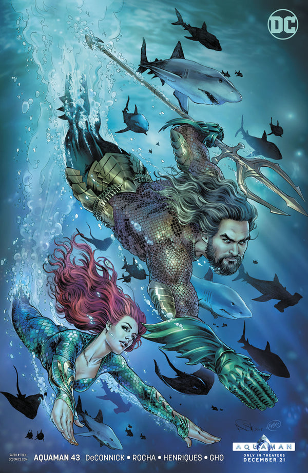 AQUAMAN #43 VAR ED,  - Slab City Comics - UK Comic Shop