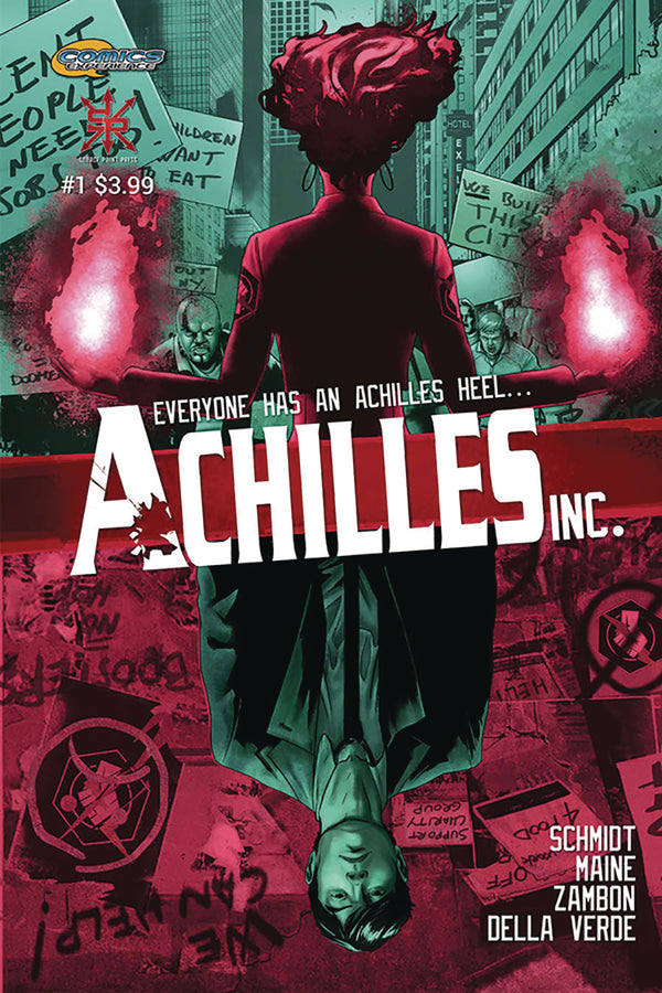 ACHILLES INC #1 - Slab City Comics