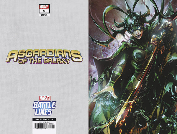 ASGARDIANS OF THE GALAXY #9 MAXX LIM MARVEL BATTLE LINES VAR,  - Slab City Comics - UK Comic Shop