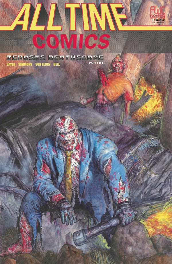 ALL TIME COMICS ZEROSIS DEATHSCAPE #1,  - Slab City Comics - UK Comic Shop