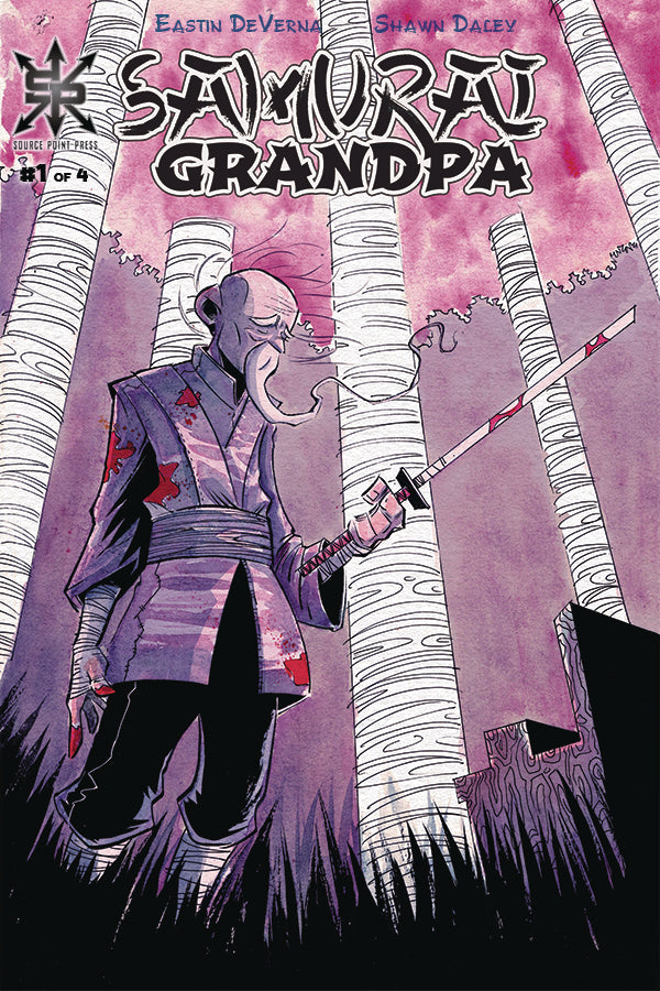 SAMURAI GRANDPA #1 - Slab City Comics