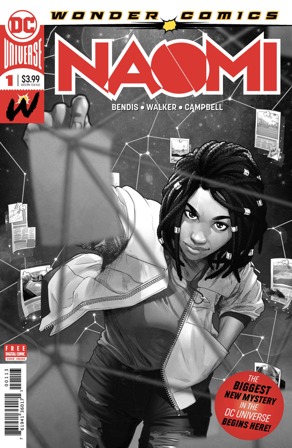 NAOMI #1 3RD PRINT - Slab City Comics
