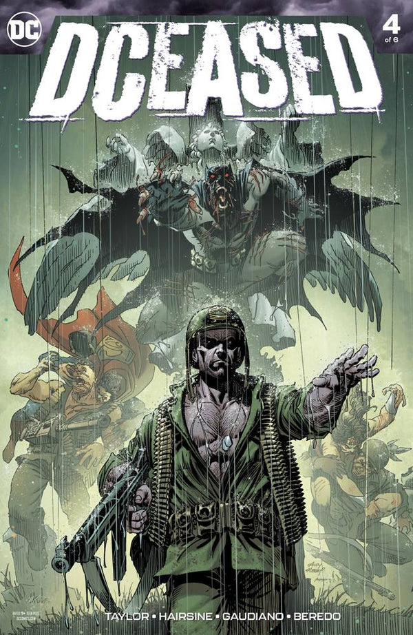 DCEASED #4 - Slab City Comics