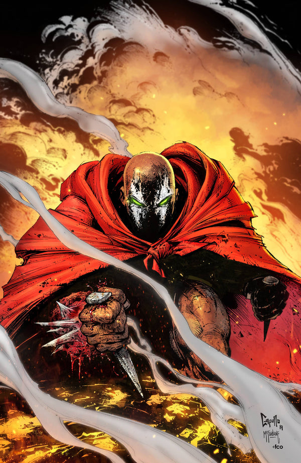 SPAWN #301 VIRGIN VARIANT CAPULLO - Slab City Comics