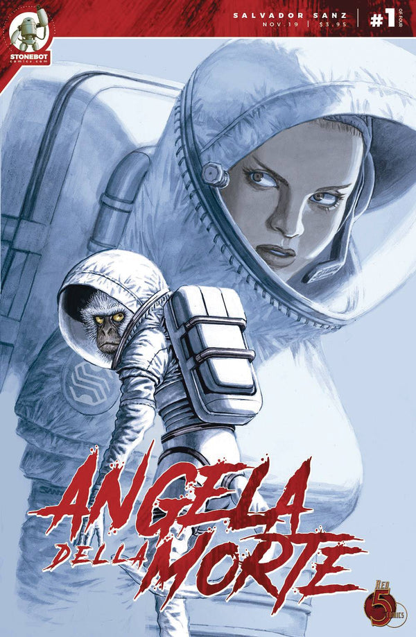 ANGELA DELLA MORTE #1,  - Slab City Comics - UK Comic Shop