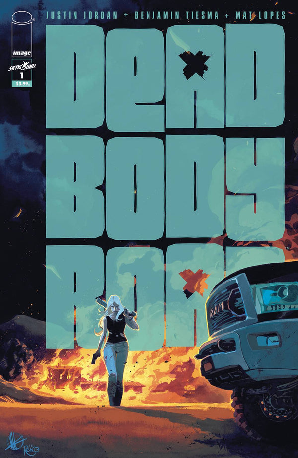 DEAD BODY ROAD BAD BLOOD #1 - Slab City Comics